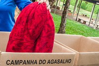 Campus SBO é ponto de arrecadação da campanha Roupa Boa, a Gente Doa