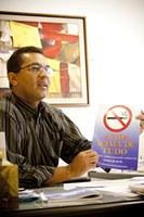 Com nova lei,  ações antifumo são reforçadas nos quatro campi