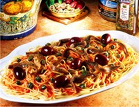 Curso de gastronomia promove almoço italiano