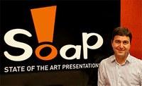 Eduardo Adas, fundador da Soap, apresenta palestra sobre storytellig