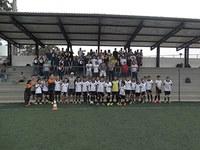 Estudantes da educação física visitam CT do Corinthians