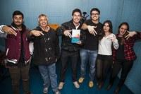 Estudantes de jornalismo vencem Expocom com reportagem em rádio