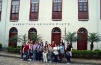 Estudantes de letras inglês participam de congresso em Ouro Preto