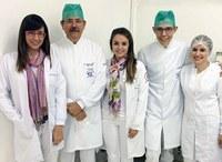Estudantes de odontologia apresentam trabalho em congresso