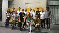Estudantes de PP visitam agência DM9, em São Paulo