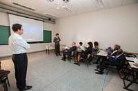 Grupo integrado por doutorandos dos EUA visita PPGA