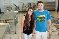 Intercambistas argentinos passam temporada no campus Santa Bárbara