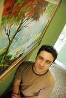 Jeferson Marcassi expõe telas acadêmicas e modernas no Taquaral
