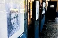 Juliana Roberto expõe desenhos em grafite no campus Taquaral