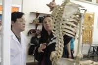 Laboratório de Anatomia recebe visitas de professores de Limeira