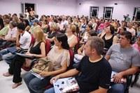 Mais de 200 calouros são recepcionados no campus Centro