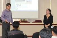 Missionários sul-coreanos conhecem campus Taquaral