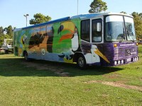 Ônibus ecológico visita campus Santa Bárbara d´Oeste da Unimep