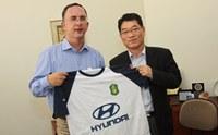Presidente da Hyundai Motor Brasil visita Unimep
