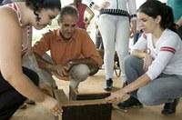Prof. e alunos de arquitetura participam de projeto de preservação