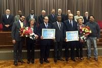 Prof. Gustavo Alvim recebe Prêmio Rocha Netto