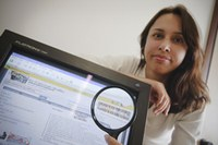Profa. reforça disciplina com oficinas de orientações para pesquisa