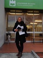 Profª Rosana Zaccaria participa de curso em Portugal