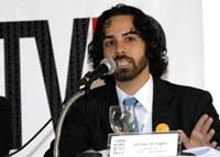 Profissional da TV Brasil fala para alunos de comunicação