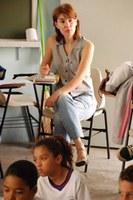 Projeto do grupo Andaime leva teatro a alunos de escola pública