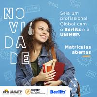 Seja um profissional Global com a Berlitz e a Unimep