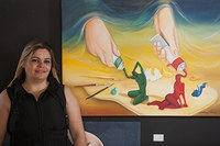 Silvana Pelissari expõe no campus Taquaral