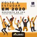 Solicite seu reingresso e volte a estudar na Unimep em 2020