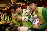 Taquaral recebe visita de 100 estudantes coreanos