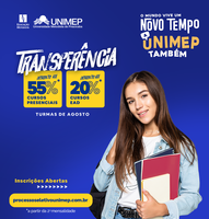 Transferências para graduação presencial e EAD têm descontos na Unimep