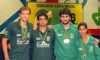 Três alunos da Unimep ganham prêmio na Copa Brasil de Tênis de Mesa