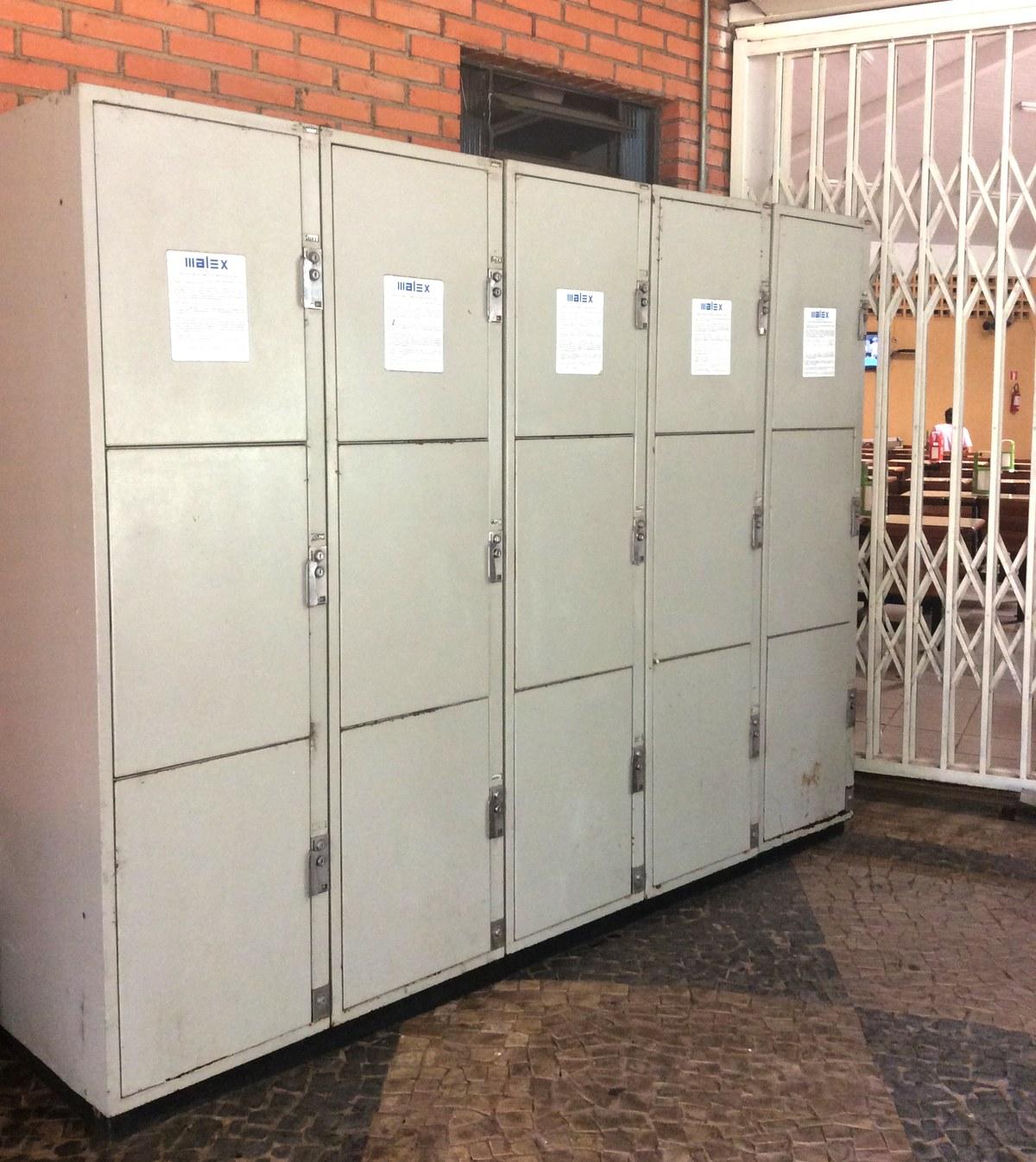 Trabalho Artesanal Manufatura E Maquinofatura ~ Unimep oferece serviço de armário guarda volumes no Taquaral