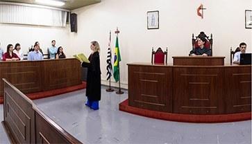 Laboratório de Prática Jurídica Simulada, Informática e acervo bibliográfico anualmente atualizado